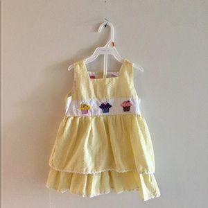 Other - Yellow cupcake dress